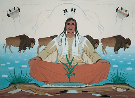 American Indian Art in addition Artist Oscar Howe likewise What  E2 80 9Cnative Art E2 80 9D moreover Bell Book And Candle furthermore RssFeed. on oscar howe art museum