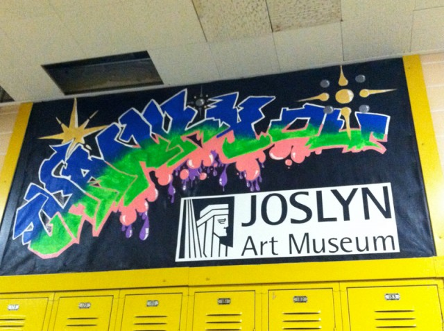 Beveridge Magnet Art Hallway