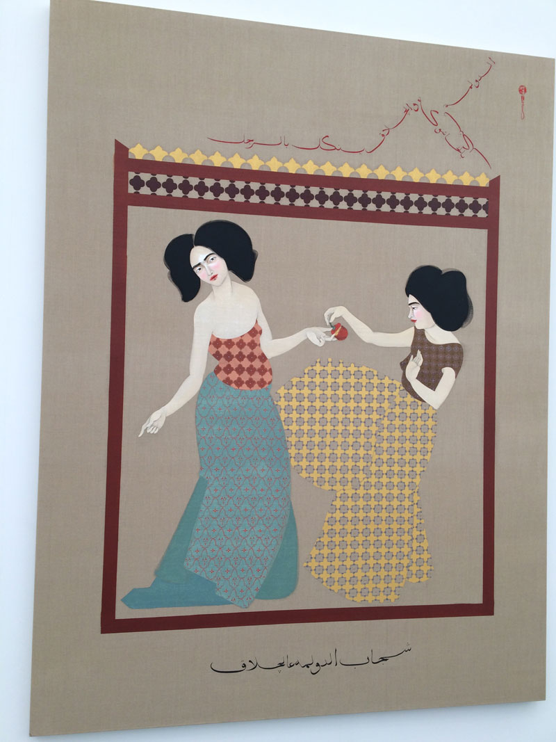 Iraqi-born artist Hayv Kahraman has become a favorite over the last two years.  Maybe she'll be a Riley CAP Gallery artist in the future…