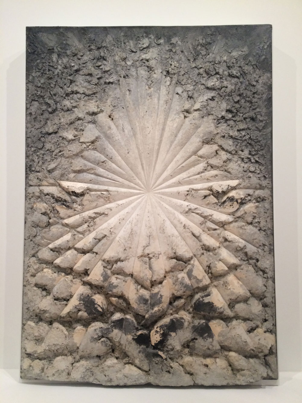 Jay Defeo from the Whitney collection.  It's a painting.  I'll leave my comments at that and let you drool.