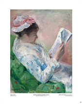 Woman Reading - Mary Cassatt