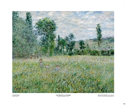 The Meadow (La Prairie) - Claude Monet