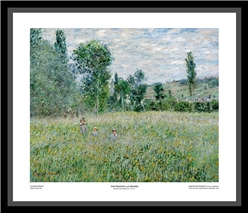 The Meadow (La Prairie) Framed - Claude Monet