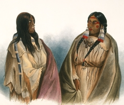 Woman of the Snake-Tribe, Woman of the Cree-Tribe