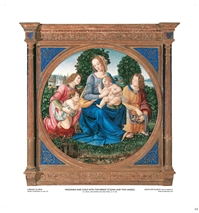 Madonna and Child with the Infant St. John and Two Angels - Lorenzo Di Credi