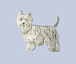Westie Pin by Donna Burdic