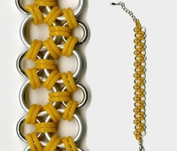 Hodo Chainmaille Bracelet by Darcy Horn
