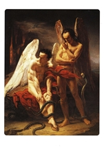 Fallen Angels (Angles dechus) Postcard