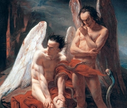 Fallen Angels by Francois-Edouard Cibot