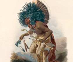 Pehriska-Ruhpa after Karl Bodmer