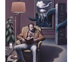 Philip K. Dick by Kent Bellows