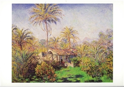 Small Country Farm at Bordighera Postcard