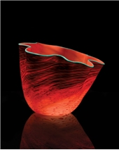 Tuscan Red Seaform - Dale Chihuly