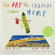 The Day the Crayons Came Home - Hardcover