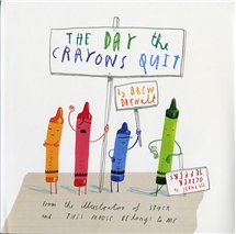 The Day the Crayons Quit - Hardcover