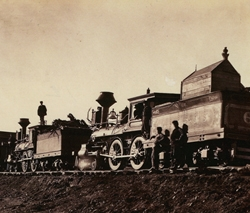 """Gen. Casement's Construction Train"" Print"