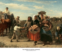 The Vintage at Château Lagrange by Jules Breton