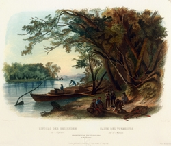 Encampment of the Travellers (on the Missouri)