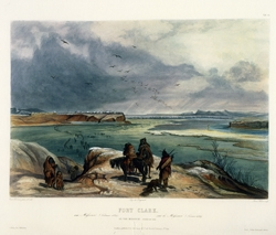 Fort Clark on the Missouri (February, 1834)