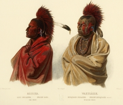 Massika, Saki Indian/Wakusasse, Musquake Indian