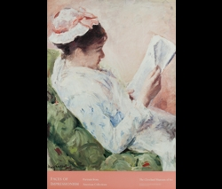 Woman Reading Exhibition Poster