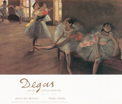 Degas and the Little Dancer Exhibition Poster