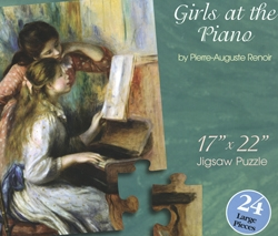 """Girls at the Piano"" by Renoir Puzzle"