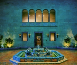 Storz Fountain Court, Joslyn Postcard