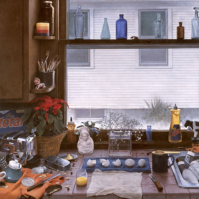Kitchen Counter Ii Dirty Dishes Ii By Kent Bellows